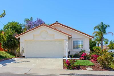 San Marcos Single Family Home Sold: 1137 Camino Del Sol