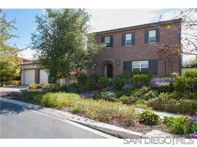 San Diego Single Family Home Pending: 7713 Briza Placida