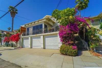Old Town, Morena Stokes Valley - Lake Morena Multi Family 2-4 For Sale: 2032 San Diego Avenue