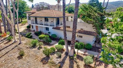 Vista Single Family Home For Sale: 1961 Elevado Rd.