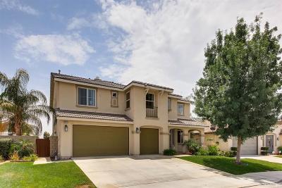 Wildomar Single Family Home For Sale: 35912 Lexi Lane