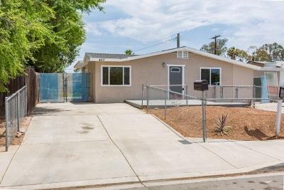Escondido Single Family Home For Sale: 407 W 7th Ave