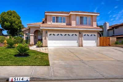 Single Family Home For Sale: 5114 Via Malaguena