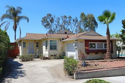 San Diego Single Family Home For Sale: 4847 Twain Ave.