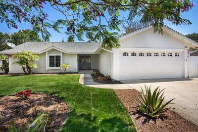 Vista Single Family Home For Sale: 758 Lazy Circle Dr