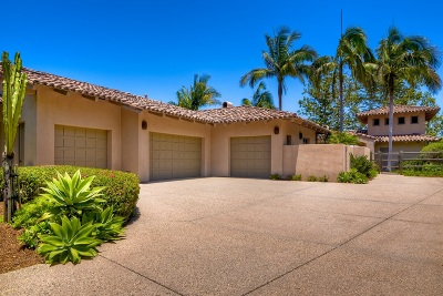 Rancho Santa Fe Single Family Home For Sale: 18395 Colina Fuerte