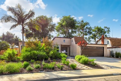 San Marcos Single Family Home For Sale: 410 Via Los Arcos