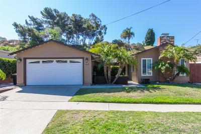 Single Family Home For Sale: 3549 Marlesta Dr