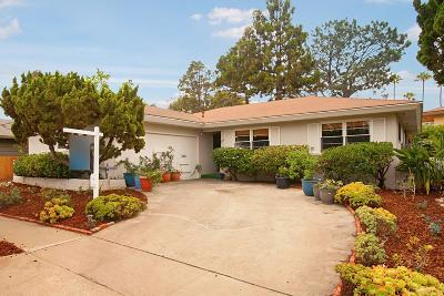 San Diego CA Single Family Home For Sale: $1,149,000