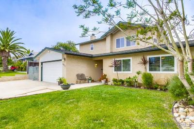 San Diego CA Single Family Home For Sale: $998,000