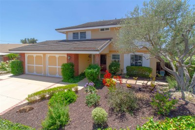 San Diego CA Single Family Home For Sale: $896,500