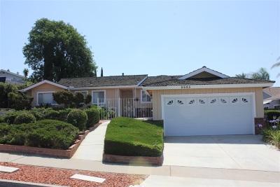 Del Cerro Single Family Home For Sale: 5685 Regis Ave