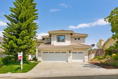 San Diego Single Family Home For Sale: 13685 Lindamere Lane