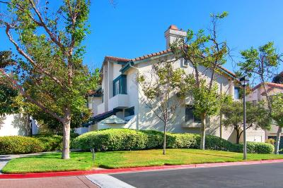 Chula Vista Townhouse For Sale: 1465 Summit Drive