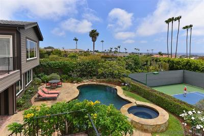 La Jolla Single Family Home For Sale: 5961 Germaine