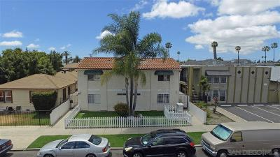 San Diego Multi Family 5+ For Sale: 4122-4126 39th Street
