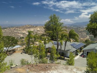 Escondido Single Family Home For Sale: 9648 Calle De La Reina