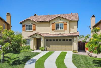 San Marcos Single Family Home For Sale: 954 Via Hacienda Ct.