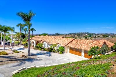 Fallbrook Single Family Home For Sale: 4249 Fallsbrae Rd