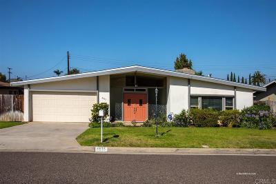 Carlsbad Single Family Home For Sale: 4035 Baldwin Ln