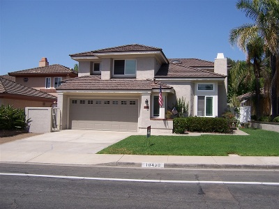 Single Family Home For Sale: 10430 Scripps Trail