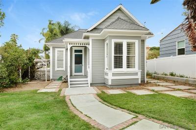 San Diego Single Family Home Pending: 2794 C Street