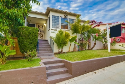 Ocean Beach, Ocean Beach/Point Loma, Ocean Obeach Single Family Home For Sale: 4514 Long Branch