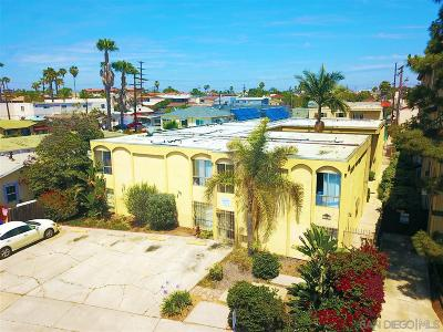 San Diego Multi Family 5+ For Sale: 4045 33rd Street