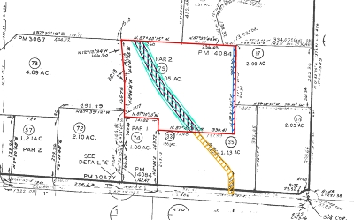Vista Residential Lots & Land For Sale: Edgehill Road