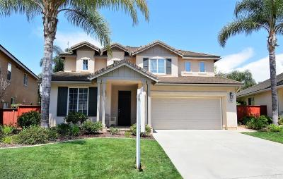 San Marcos Single Family Home For Sale: 343 Kentfield Dr