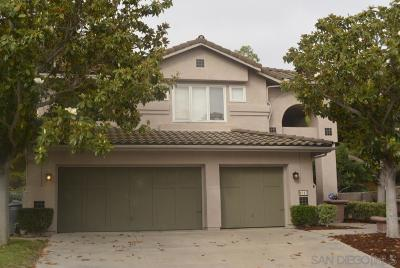 Escondido Single Family Home For Sale: 1017 Calle De Lepanto