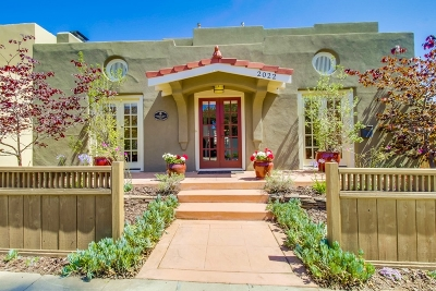 Mission Hills, Mission Hills/Hillcrest, Mission Valley Single Family Home For Sale: 2022 Hickory