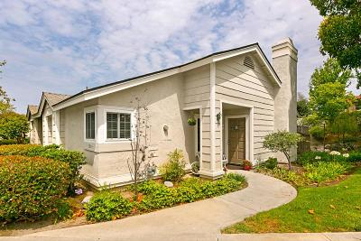 Carlsbad Townhouse For Sale: 2864 Nantucket Ln