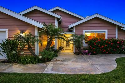 San Marcos Single Family Home For Sale: 1048 La Sombra Dr