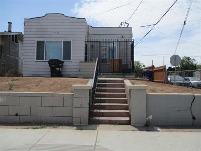 San Diego Single Family Home For Sale: 4096 Menlo Avenue