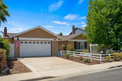 Poway Single Family Home For Sale: 13343 Lingre Ave.