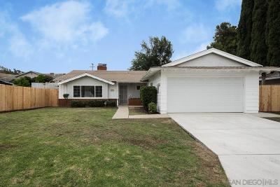 Single Family Home For Sale: 12627 Tustin Street