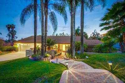 Poway Single Family Home Sold: 17042 Cloudcroft Dr