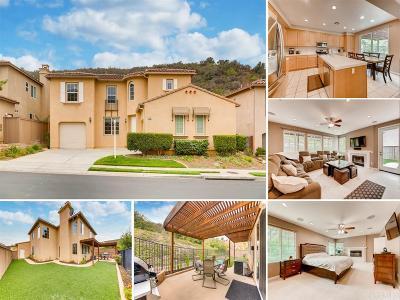 San Marcos Single Family Home For Sale: 550 Via Del Caballo