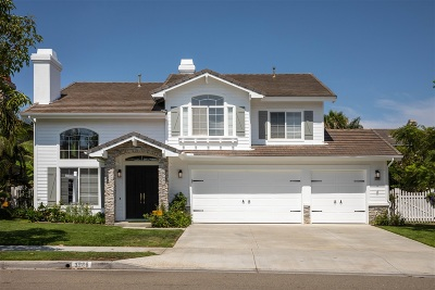 Carlsbad Single Family Home For Sale: 3986 Linmar Ln