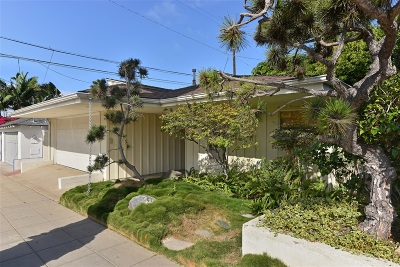 La Jolla Single Family Home For Sale: 2122 Paseo Dorado