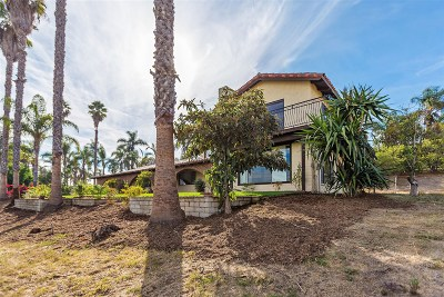 Oceanside Single Family Home For Sale: 6088 De La Rosa Lane