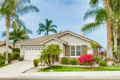 San Marcos Single Family Home For Sale: 1592 Loma Alta