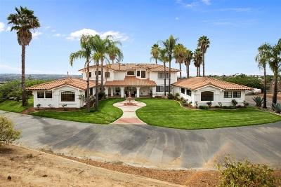 Single Family Home For Sale: 6038 De La Rosa
