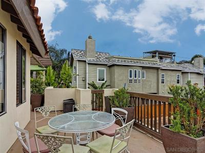 La Jolla Single Family Home For Sale: 638 Arenas St