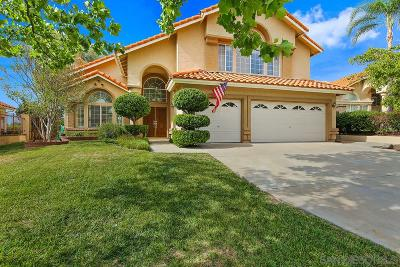 Murrieta, Temecula Single Family Home For Sale: 31456 Corte Sonora