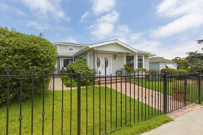 San Diego Single Family Home For Sale: 2715 29th