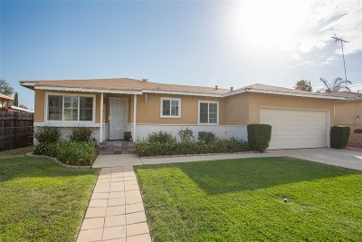 Escondido Single Family Home For Sale: 833 N Midway