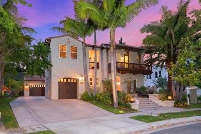Single Family Home For Sale: 7444 La Mantanza