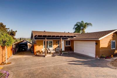 Escondido Single Family Home For Sale: 1451 E Lincoln Ave